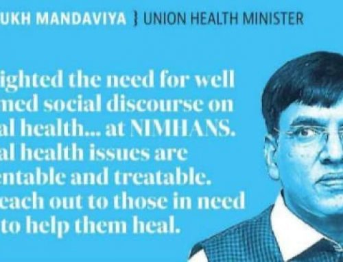 Highlighted the need for well informed social discourse on mental health at NIMHANS.
